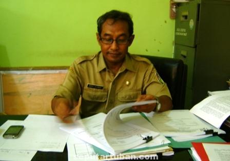 Kepala Bidang Perdagangan Dinas Perekonomian dan Pariwisata Pemkab Tuban,  Imron Ahmadi