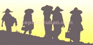 BERKELANJUTAN: Pemkab Tuban tengah menyiapkan program pertanian masa depan. Selain untuk melindungi komunitas agraria untuk meningkatkan ketersedian pangan.