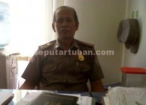 Kasi Operasional Sat Pol PP Pemkab Tuban, Irianto