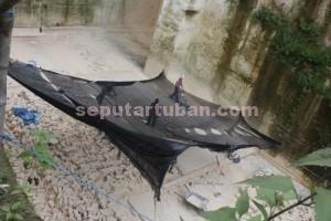 DIBIARKAN : Aktivitas tambang illegal di kawasan Kecamatan Rengel, Kabupaten Tuban