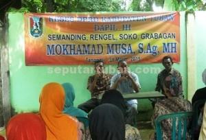 Kegiatan Reses Anggota DPRD Tuban, Mukhammad Musa