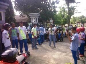 CERIA : Salah satu perayaan siswa SMK di Tuban