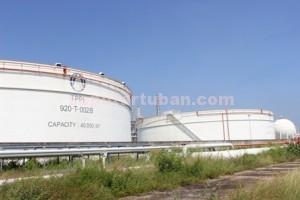 NGANGGUR : Kawasan kilang PT TPPI yang saat ini masih tidak beroperasi