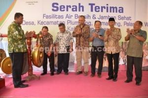 BERBAGI MANFAAT : Peresmian program oleh Wakil Bupati Tuban