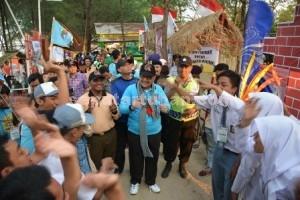 Suasana Jambore Koperasi Koperasi di Mangrove Center Tuban