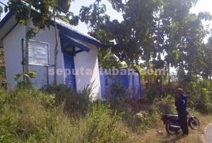 MANGKRAK : Inilah proyek air bersih di Desa Ngrejeng hampir setahun dibiarkan saja