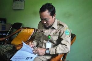 Kasi Penma Kemenag Tuban, M. Muhlisin Mufa