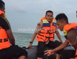 SIGAP : Kapolres Tuban, AKBP Guruh Arif Darmawan saat memimpin pencarian korban