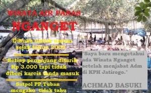 "BOBOL: Geger skandal wisata ""bodong"" pemandian air panas di petak 33a, RPH Kejuron, BKPH Bangilan, yang dikelola KPH Perhutani Jatirogo ternyata luput dari pantauan Satpol PP Tuban."