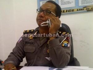 Kanit Laka Sat Lantas Polres Tuban, IPDA Nungki Sambodo