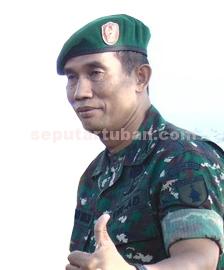 Kepala Staf Kodim 0811/Tuban, Mayor Inf Suko Edy Winarto