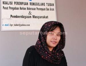 Direktur KPR Tuban, Nunuk Fauziyah