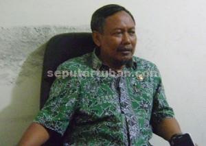 Kepala Bidang Pariwisata, Seni dan Kebudayaan, Dinas Perekonomian dan Pariwisata Pemkab Tuban, Sunaryo