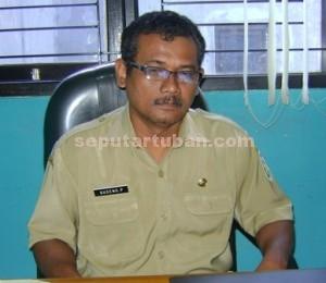 Kabid Pemerintahan Desa (pemdes). Bapemas Pemdes dan KB Kabupaten Tuban, Sugeng Purnomo
