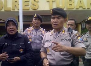 Kapolres Tuban, AKBP Guruh Arif Darmawan, dalam sebuah kesempatan