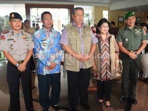 PAMIT : Foto bersama dengan Bupati, Kapolres dan Dandim 0811 Tuban
