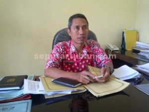 Kepala Bidang Kebersihan dan Pertamanan, Dinas PU Pemkab Tuban, Edy Kartono