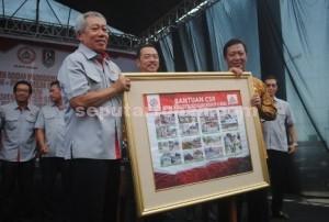 PEDULI DESA : Forum Masyarakat Kokoh mengusulkan program desa ke PT Semen Indonesia dengan anggaran yang diberikan Rp. 250 juta