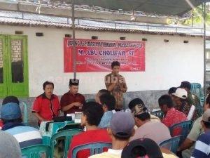 LEBIH DEKAT : Reses anggota DPRD Tuban, M. Abu Cholifah diwilayah Kecamatan Tambakboyo