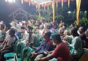 RAMAI : Undangan Reses dengan hikmat mengikuti acara