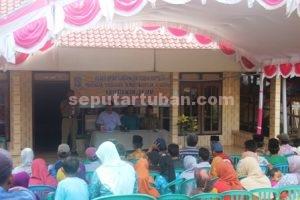 PENUH : 100 masyarakat menghadiri undangan Reses ini