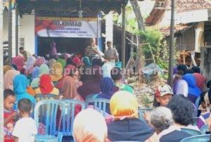 SEMANGAT : Suasana Reses anggota DPRD Tuban, Rakhmad di Desa Margomulyo, Kecamatan Kerek
