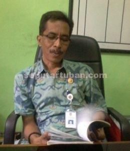 Sekretaris BLH Tuban, Bambang Irawan