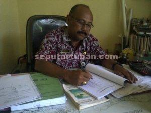 Kepala Bidang Saluran, Dinas Pekerjaan Umum, Budi Hartono
