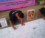Aksi penggalangan tanda tangan untuk mendesak segera dimasukkanya RUU dalam Prolegnas DPR RI
