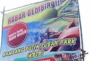 Proosi Kambang Putih Park yang sudah mulai dilakukan