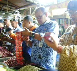 Sidak di Pasar Baru Tuban