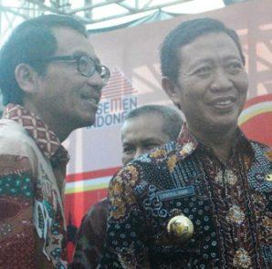 Bupati Tuban, H. Fathul Huda dan Direktur PT SG, Sunardi