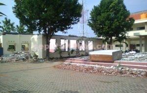 Kondisi pembangunan RSUD Jatirogo