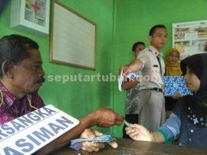 BABAK BARU : Salah satu adegan dalam rekontruksi kasus OTT wisata Bektiharjo