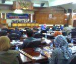 Suasana rapat paripurna DPRD Tuban