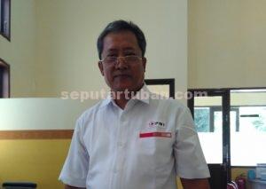 Kepala Unit pencarian Pelestarian Donor Darah Sukarela PMI Cabang Tuban, Agus Harjunadi