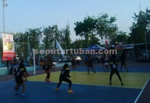 Turnamen voli pelajar PT Semen Indonesia