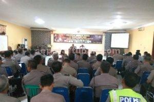 PENINGKATAN SDM : Pelatihan menulis berita dibuka langsung oleh Kapolres Tuban, AKBP Fadly Samad