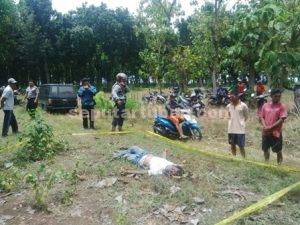 SUDAH TERANG : Jasad Mr X yang ditemukan di kawasan Hutan Jati Peteng adalah warga Kab. Gresik dan sudah dikebumikan keluarganya