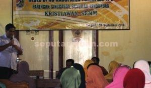 BUKAN RESES BIASA : Reses Kristiawan, S.P., M.M juga menjadi sarana pemberdayaan kaum perempuan desa