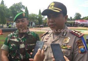 KOMPAK SIAGA : Kapolres Tuban, AKBP Fadly Samad dan Dandim 0811 Tuban, Letkol Inf Sarwo Supriyo