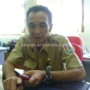 Kepala Seksi Penempatan Tenaga Kerja Dinas Sosial dan Tenaga Kerja (Dinsosnaker), Harsono Tri Asworo