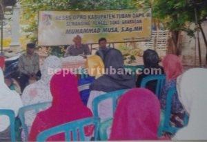 EMANSIPASI WANITA : Muhammad Musa memperhatikan keterwakilan perempuan dalam Reses
