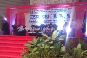 PELAYANAN PRIMA : Sosialisasi AHU Online di Tuban