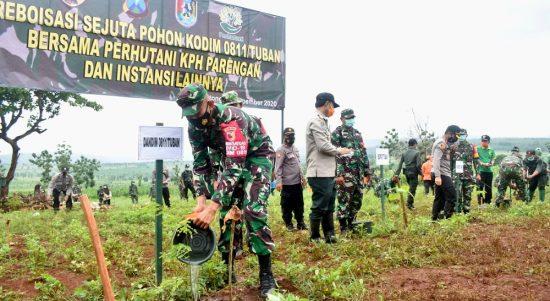 Reboisasi TNI