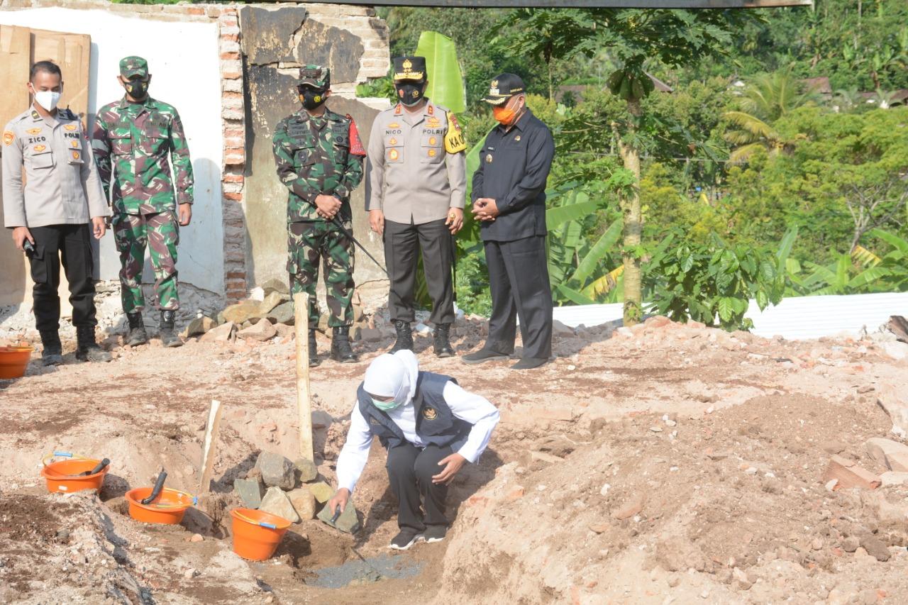 Desa Jogomulyan Ditinjau Forkopimda Jatim