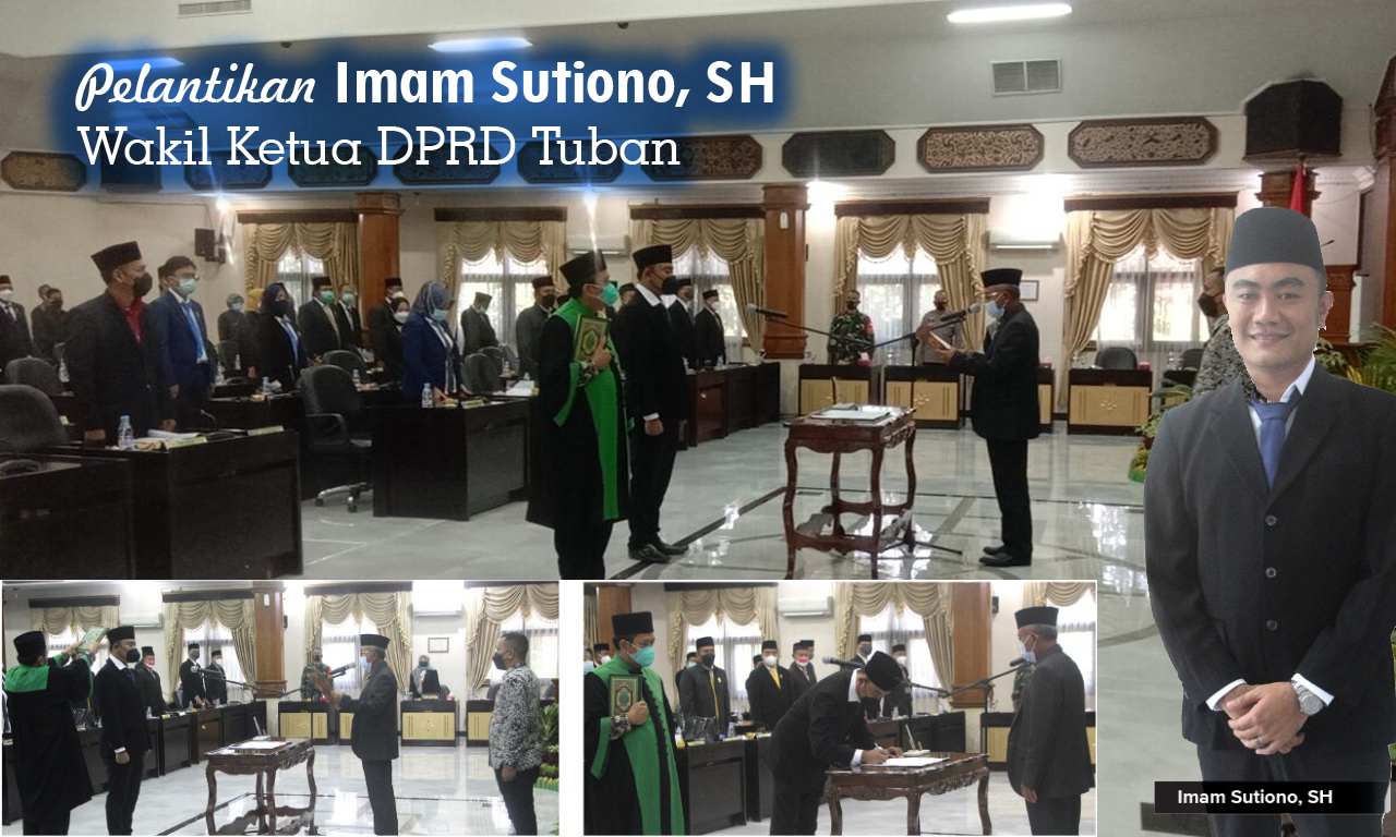 Pelantikan Imam Sutiono